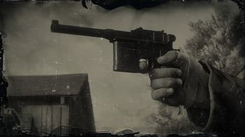 Картинки по запросу пистолет маузера rdr2